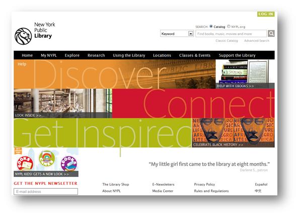 20 Great Public Library Websites - Blog - mattanderson ...