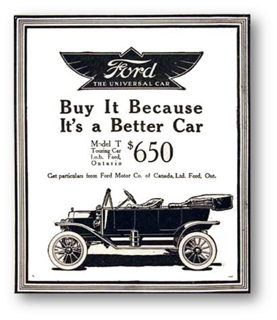 henry ford a product of fantastic Because this is fantastic it's a story you know well—how henry ford ii tried to buy ferrari and was rebuffed by il commendatore  hank the deuce got mad, and then he decided to get even.